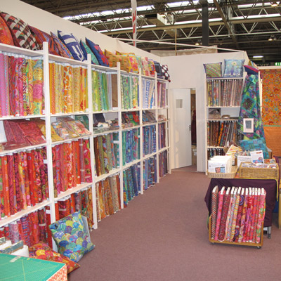 Festival of Quilts Kaffe Fassett